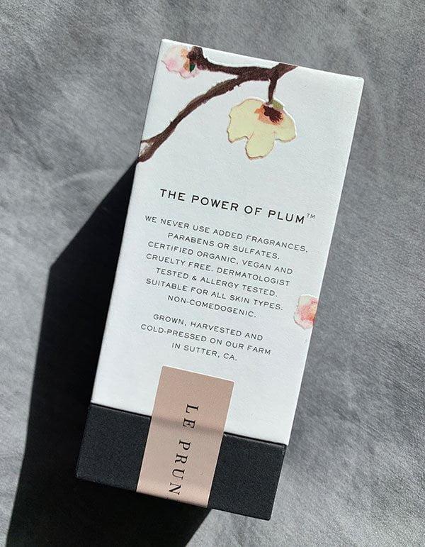 Le Prunier Plum Beauty Oil: Erfahrungsbericht auf Hey Pretty Beauty Blog Schweiz