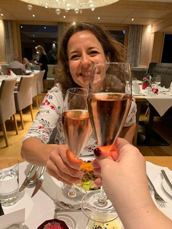 Dinner im Sporthotel Silvretta Montafon (Hey Pretty)