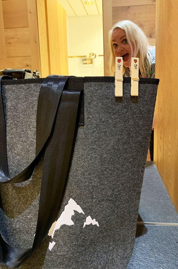 Spa-Tasche im Sporthotel Silvretta Montafon (Review auf Hey Pretty)
