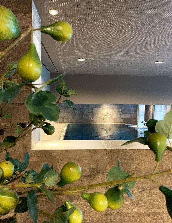 Gold Spa des Sporthotel Silvretta Montafon (Hey Pretty Erfahrungsbericht), Ruheraum