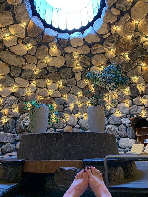 Tepidarium des Gold Spa Sporthotel Silvretta Montafon (Hey Pretty)