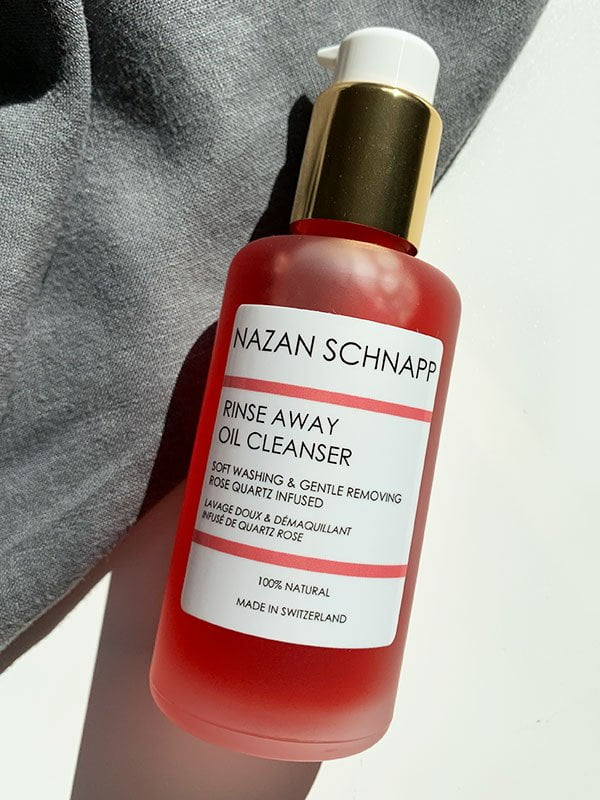Review Nazan Schnapp Rinse Away Oil Cleanser (Hey Pretty Beauty Blog Erfahrungsbericht) – Organic Skincare from Switzerland