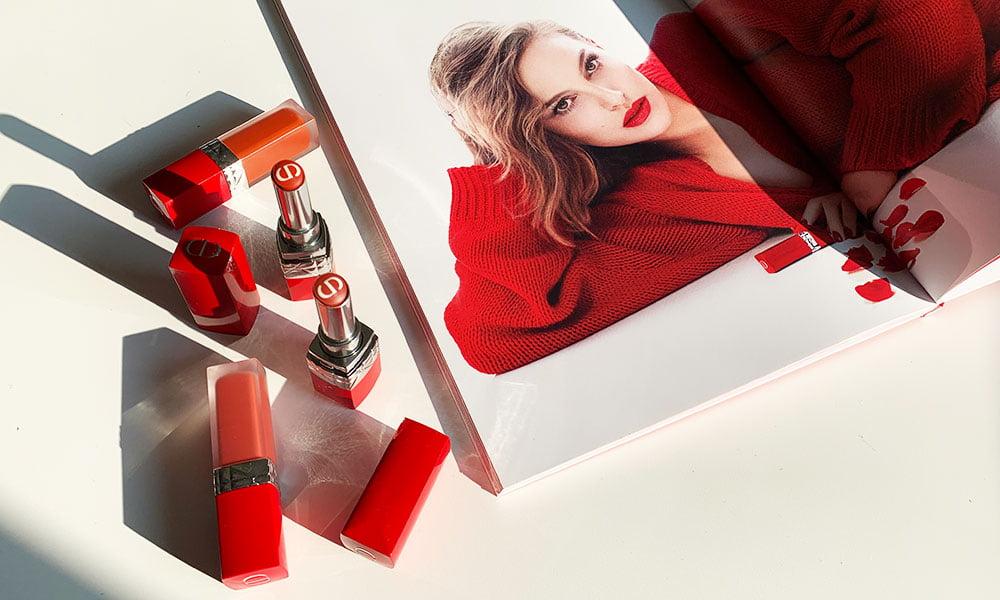 Dior Rouge Ultra Care Lipsticks (Winter 2019): Erfahrungsbericht auf Hey Pretty Beauty Blog