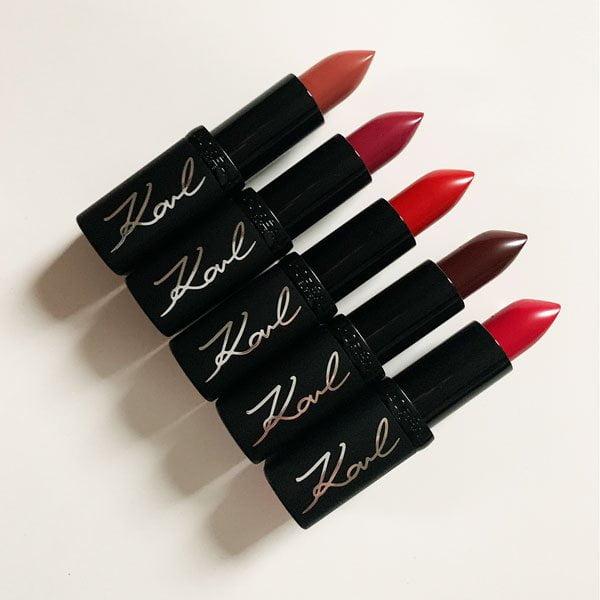 Karl X L'Oréal Paris Color Riche Lipsticks, Limited Edition 2019 –Review auf Hey Pretty Beauty Blog