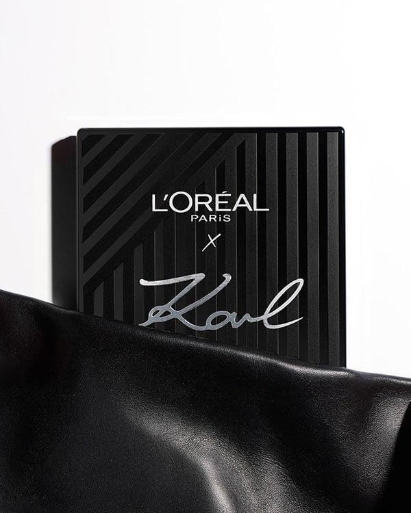 PR-Bild Karl Lagerfeld X L'Oréal Paris Make-Up Kollektion (Hey Pretty Beauty Blog Review)
