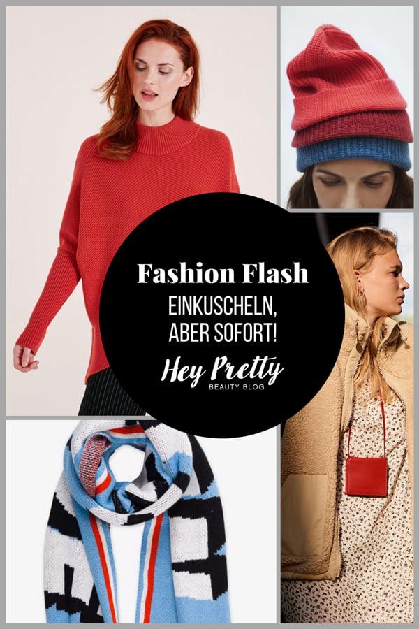 Fashion Flash: Einkuscheln, aber sofort! 18 schöne Mode-Highlights für kalte Tage auf Hey Pretty