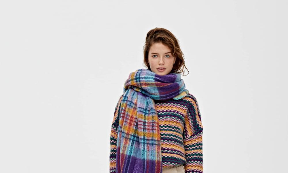 Einkuscheln, aber sofort! Hey Pretty Fashion Flash mit den schönsten Kuschel-Kleidern für den Winter 2019 (Pull & Bear Pullover)