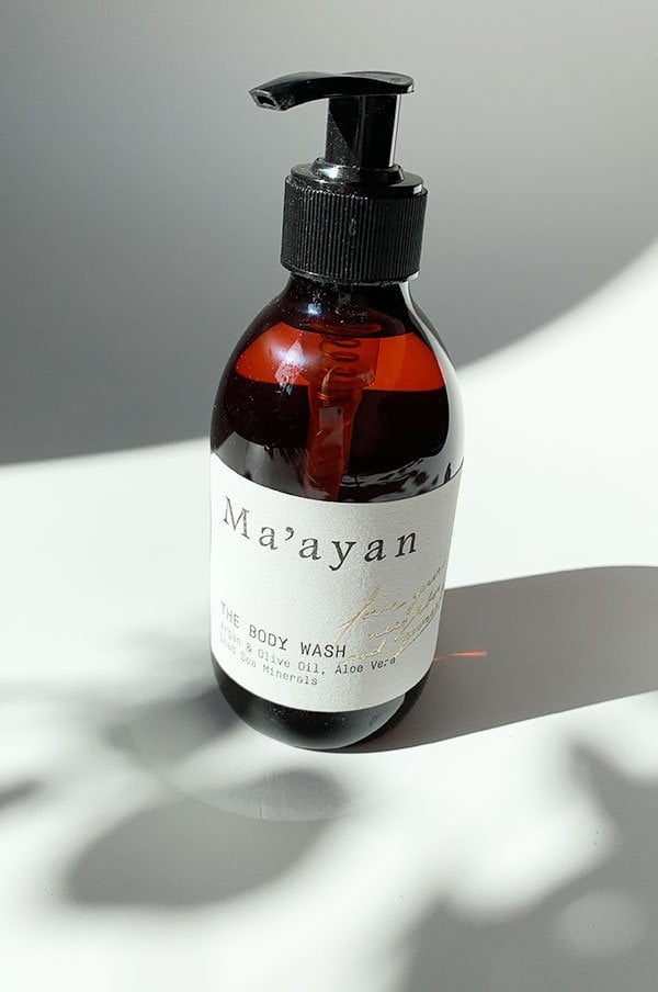Ma'ayan The Body Wash (Hey Pretty Review)