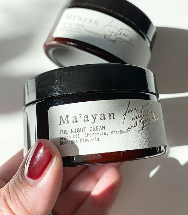 Ma'ayan The Night Cream, Detailbild (Hey Pretty)