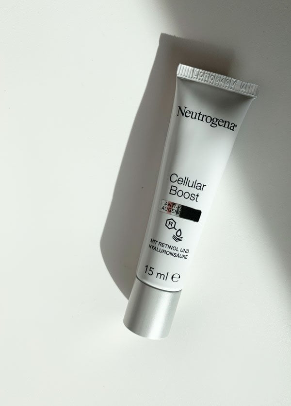 Erfahrungsbericht Neutrogena Cellular Boost Anti-Falten Augenpflege (Hey Pretty Beauty Blog)