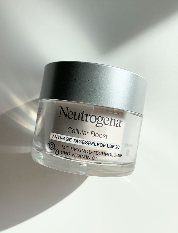 Erfahrungsbericht Neutrogena Cellular Boost Anti-Age Tagespflege LSF 20 (Hey Pretty Beauty Blog)