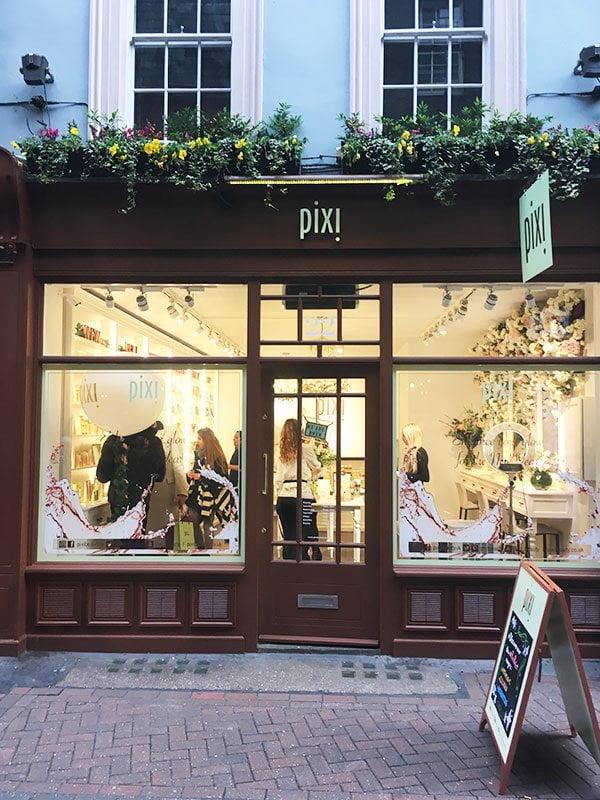 Pixi London Flagship Store bei der Carnaby Street: Shop Review auf Hey Pretty Beauty Blog