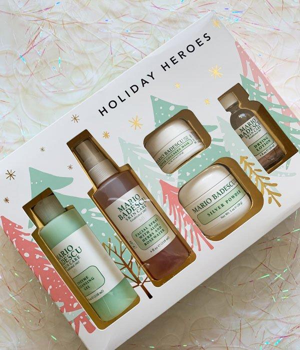 Mario Badescu Holiday Heroes Geschenkset (Sephora Schweiz bei Manor), Review Sephora Xmas 2019 auf Hey Pretty