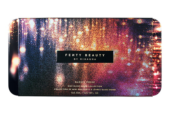 Fenty Beauty by Rihanna Glossy Posse Set (Sephora Schweiz Xmas 2019), closed