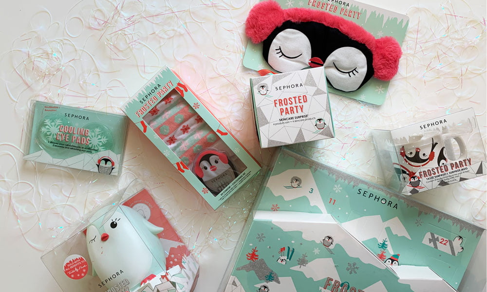 Sephora Frosted Party Christmas Collection 2019: Die schönsten Geschenk-Highlights auf Hey Pretty Beauty Blog, erhältlich bei Sephora at Manor Schweiz