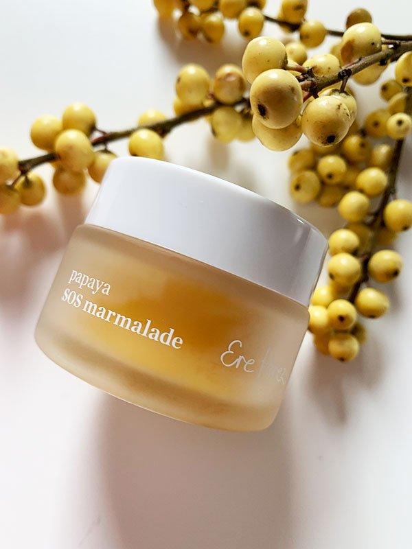Ere Perez Papaya SOS Marmelade (Naturkosmetik-Hautpflegetipps für die kalte Jahreszeit und für trockene Haut) – Hey Pretty & BioBeautyBoutique