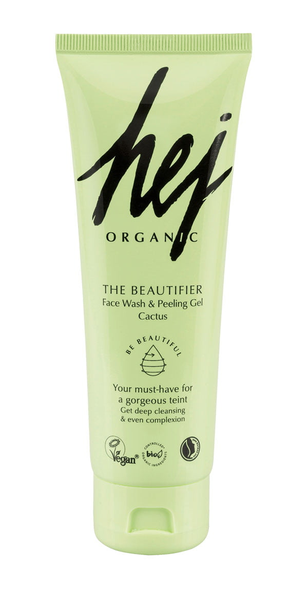 Hey Pretty Beauty-ABC: Alltagshelden der Gesichtspflege – Hej Organic The Beautifier Face Wash & Peeling