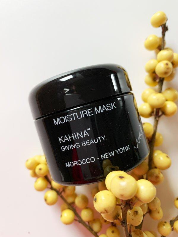 Kahina Giving Beauty Moisture Mask (Naturkosmetik-Hautpflegetipps für die kalte Jahreszeit und für trockene Haut) – Hey Pretty & BioBeautyBoutique