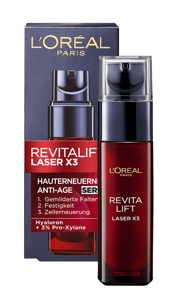 L'Oréal Paris Reviatlift Laser X3 Serum (Hey Pretty Beauty-ABC: Alltagshelden der Gesichtspflege)