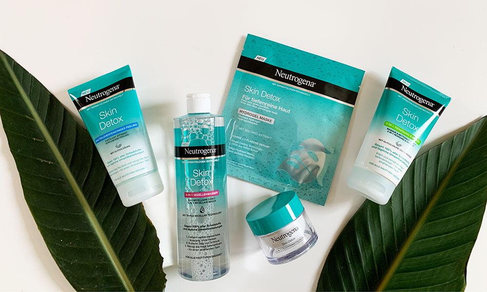 Verlosung und Erfahrungsbericht: Neutrogena Skin Detox Hautpflege auf Hey Pretty Beauty Blog