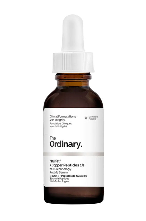 "Alltagshelden der Gesichtspflege: The Ordinary ""Buffet"" + Copper Peptides 1% (Hey Pretty Beauty-ABC)"