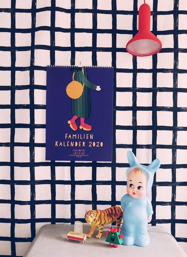 Framboise und Ketchup Familienkalender 2020 (Etsy) – Geschenkideen für Weihnachten auf Hey Pretty Beauty Blog