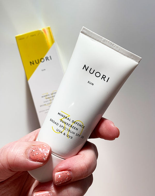 NUORI Mineral Defence Sunscreen SPF 30 (Organic Sunscreen from Denmark) – Hey Pretty Beauty Blog Review