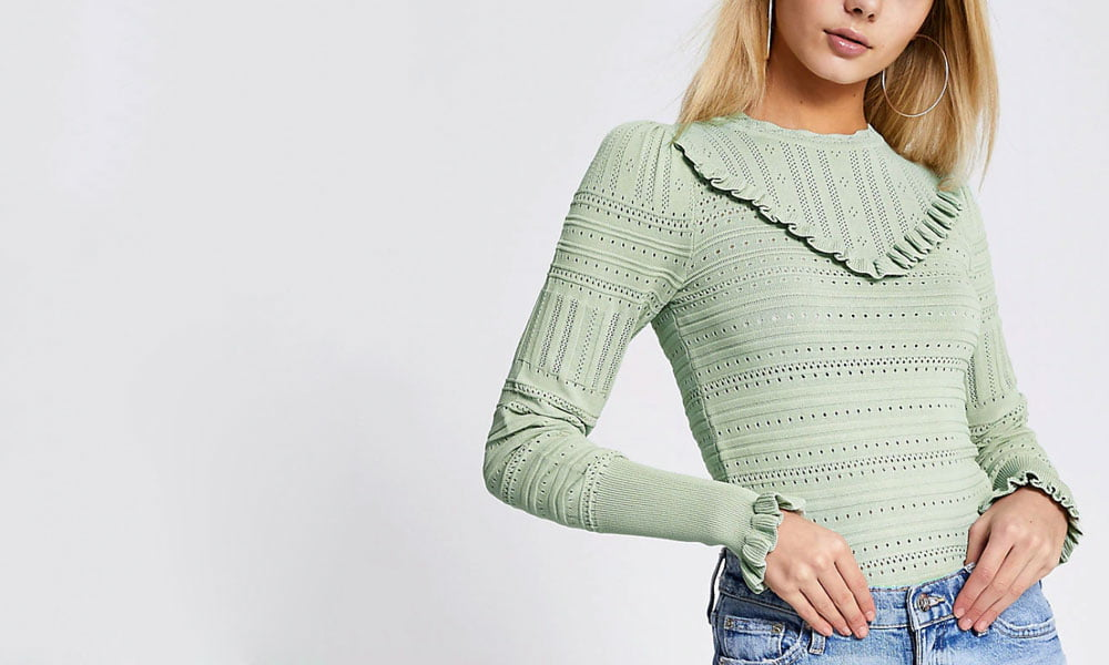 Hey Pretty Fashion Flash: Alles auf Grün! Januar 2020 (Image: River Island)