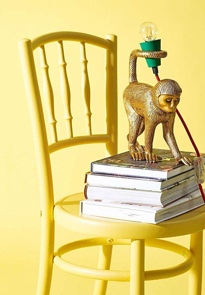 Lampe in Affenform von Oliver Bonas (Hey Pretty Deko-Ideen für den Frühling 2020)