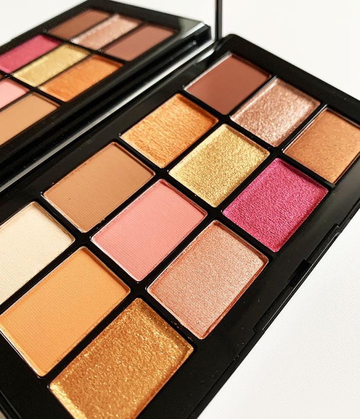 Closeup NARS Afterglow Eyeshadow Palette (Hey Pretty Beauty Blog)