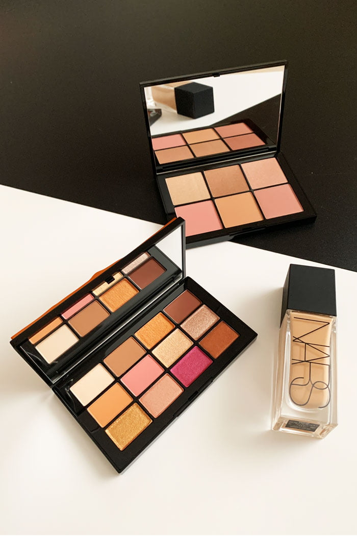 NARS Afterglow Eyeshadow Palette and Overlust Cheek Palette: Review auf Hey Pretty Beauty Blog (February 2020)