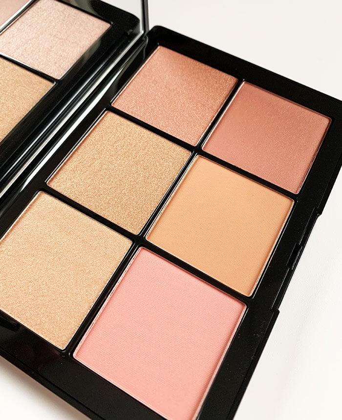 Closeup NARS Overlust Cheek Palette (Hey Pretty Beauty Blog Review) –Limited Edition Januar 2020