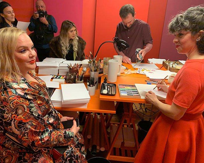 Launch Event Rouge Hermès in Paris im Februar 2020 – Preview der neuen Lippenstifte auf Hey Pretty Beauty Blog Schweiz