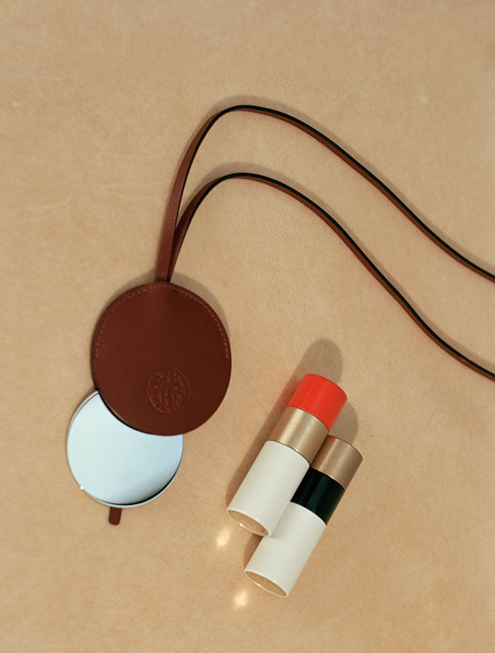 PR Image: Rouge Hermès Lipsticks and matching leather accessories – Hey Pretty Beauty Blog preview