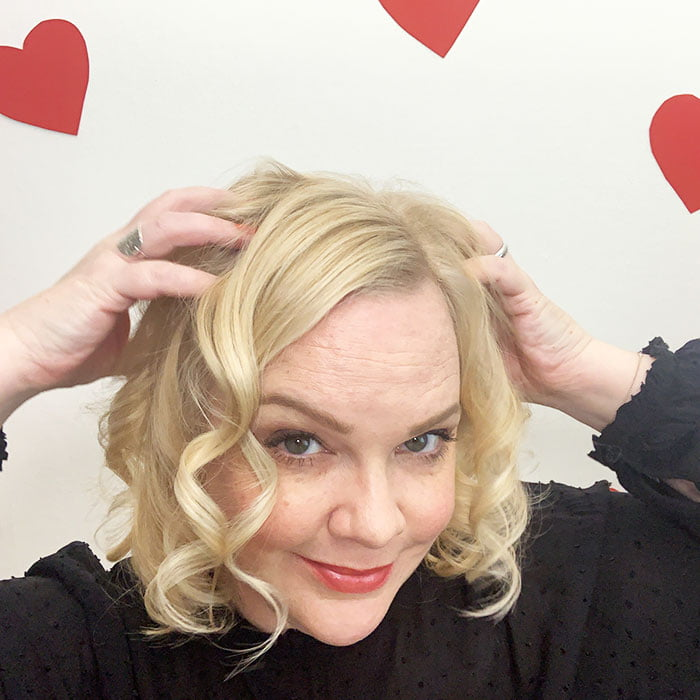 Romantische Date Night Locken: Tutorial auf Hey Pretty mit dem Philips Auto Curler