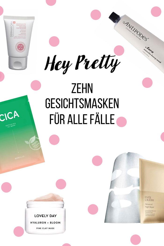 Hey Pretty Skincare-Quickie: 10 Gesichtsmasken, die schnell für Glow sorgen