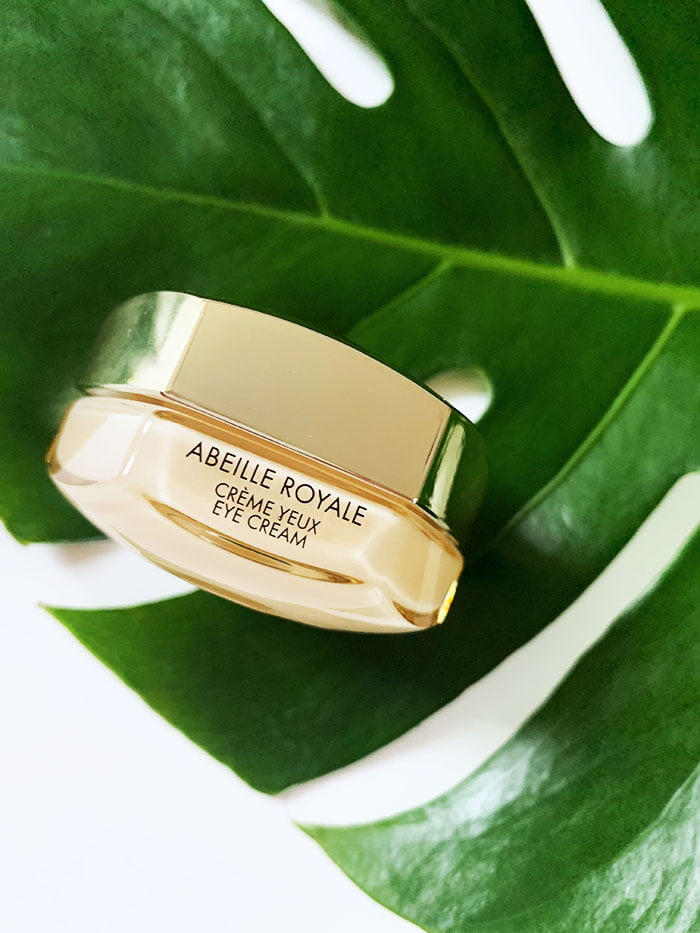 Guerlain Abeille Royale Eye Cream Multi-Wrinkle Minimizer (Hey Pretty Beauty Blog Erfahrungsbericht – Luxus-Neuheiten März 2020)