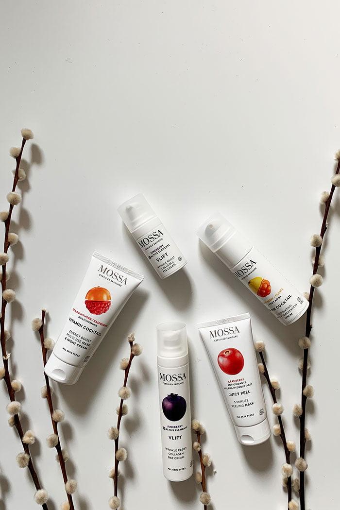 Mossa Certified Organic Skincare Erfahrungsbericht: Naturkosmetik aus Lettland mit Nordic Berries (Hey Pretty Beauty Blog Schweiz) – erhältlich bei Your Green Boutique