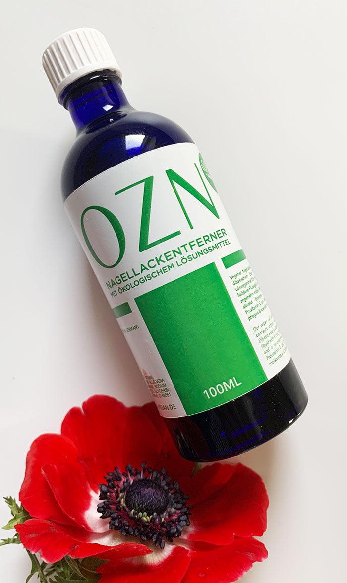 OZN Nagellackentferner mit ökologischem Lösungsmittel (Hey Pretty Schweiz Erfahrungsbericht)