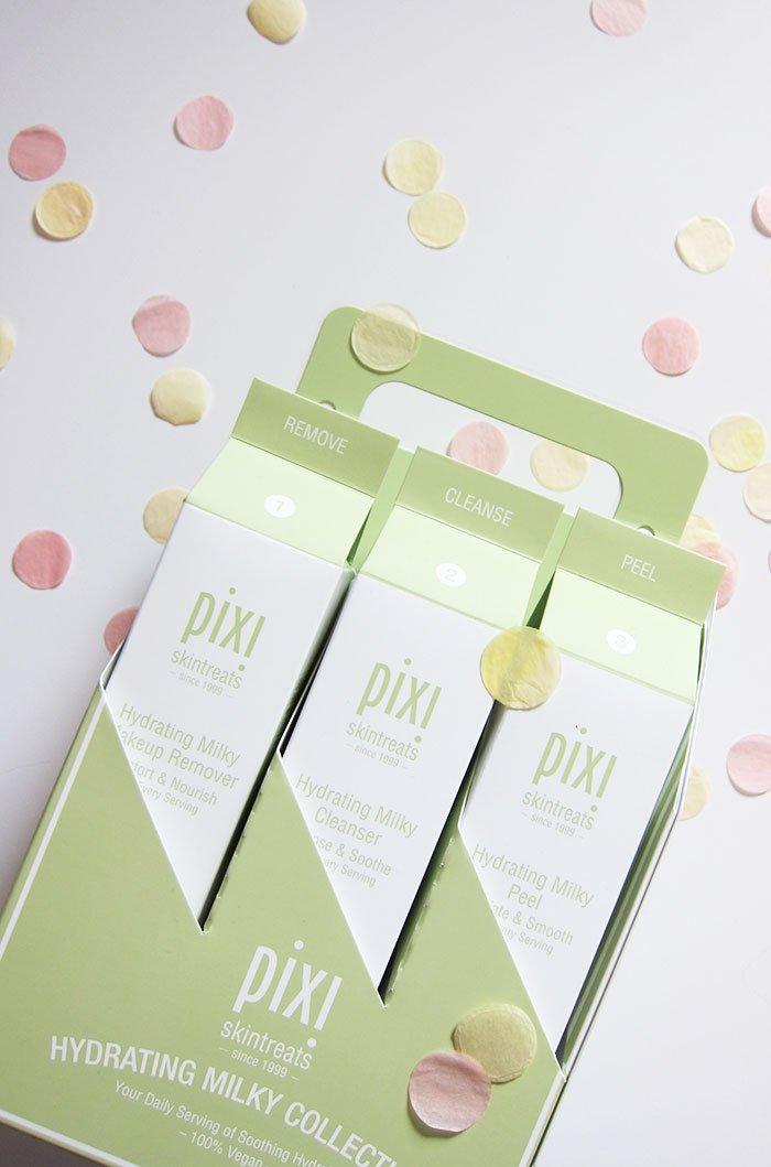 Press Kit für die neue Pixi Beauty «Hydrating Milky»-Gesichtspflegekollektion (Hey Pretty Schweiz: Erfahrungsbericht)