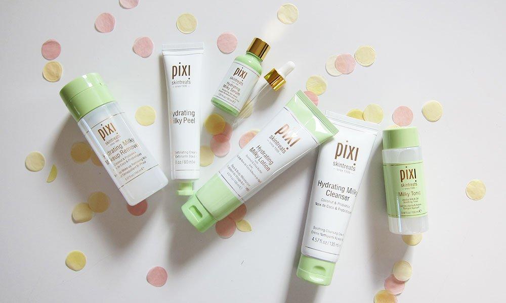 Pixi Beauty Hydrating Milky Facecare Collection: Kollektionsvorstellung und Erfahrungsbericht auf Hey Pretty Schweiz