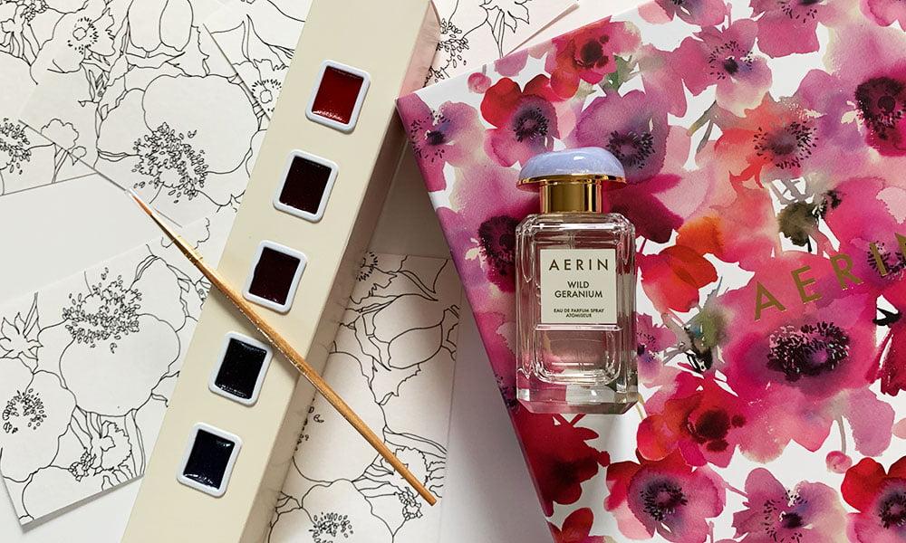 Aerin Wild Geranium Eau de Parfum: Review auf Hey Pretty Beauty Blog 2020