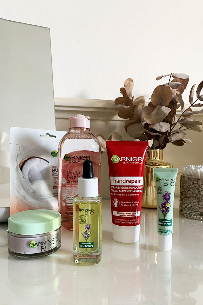 Meine «Extra-Care»-Pflegeroutine für den Abend mit Garnier – Hey Pretty Beauty Blog (Sponsored Content)