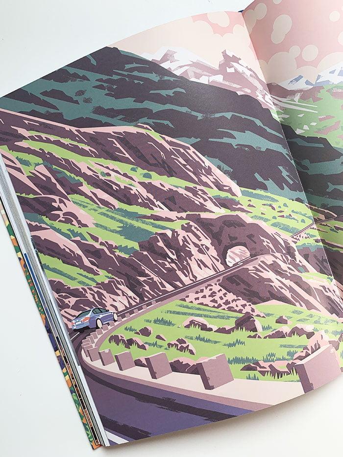 Detailbild aus «Legendäre Roadtrips – Die ultimativen Strecken für Reisen auf vier Rädern» (2018, Lonely Planet Verlag) – Buchreview auf Hey Pretty, Image Credit: LONELY PLANET