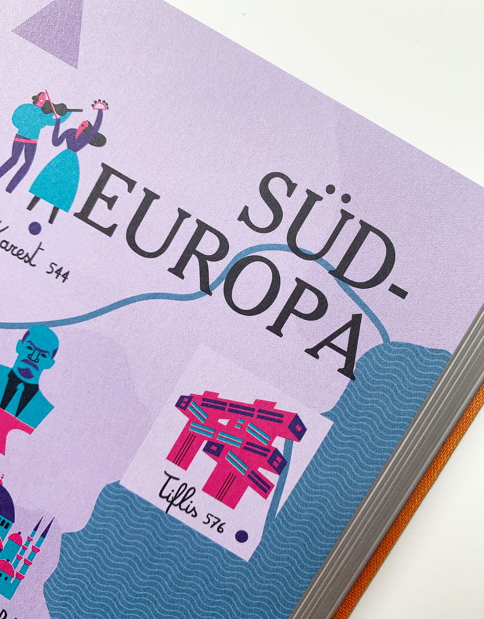Detailbild aus «NYT 36 Hours Europa, 3. Auflage« von Barbara Ireland (Image Credit: Taschen Verlag), Buchreview auf Hey Pretty