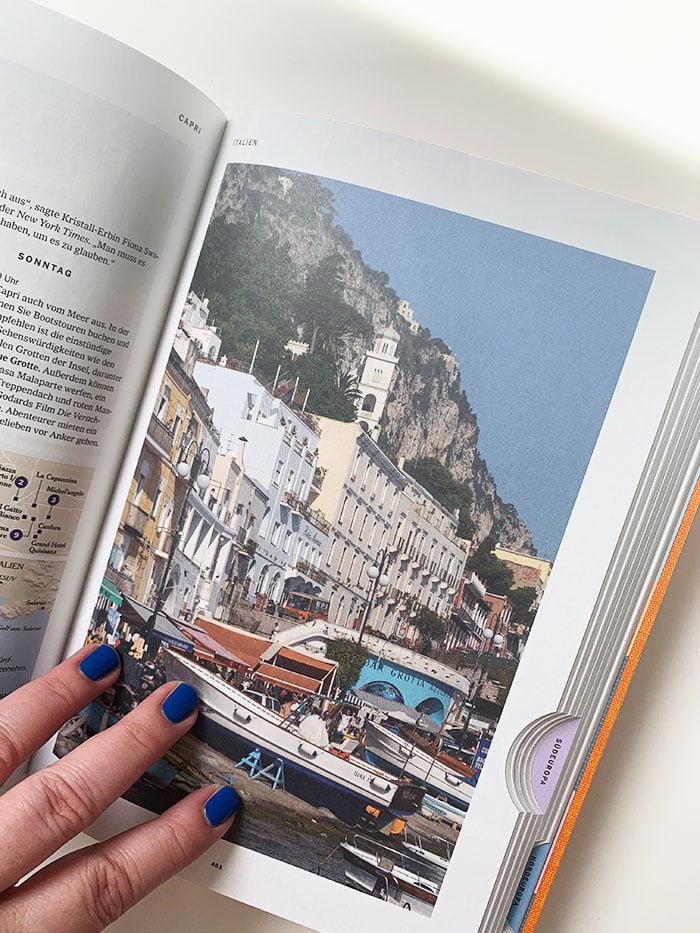 Detailbild aus «NYT 36 Hours Europa, 3. Auflage« von Barbara Ireland (Image Credit: Taschen Verlag), Buchreview auf Hey Pretty: 3 Reisebücher, die jetzt dein Fernweh stillen (The Corona Crisis Book Review)