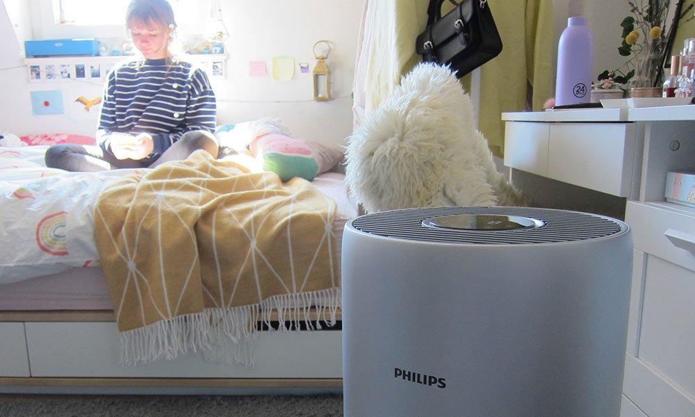 Erfahrungsbericht Philips Luftreiniger AC3036 (Test auf Hey Pretty Beauty Blog mit zwei Heuschnupfen-Allergikerinnen im Frühsommer)
