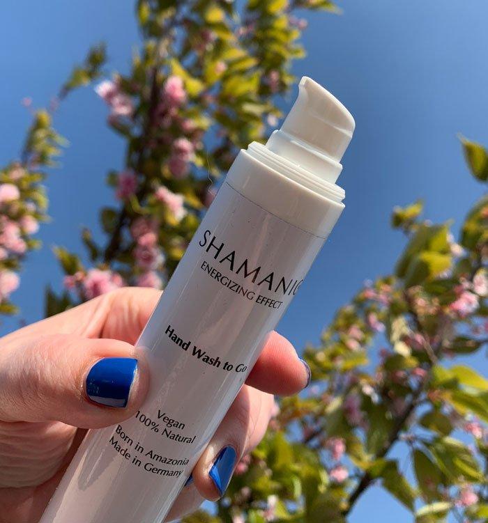 Erfahrungsbericht Shamanic Hand Wash to Go Handreinigung (Hey Pretty Beauty Blog Schweiz)
