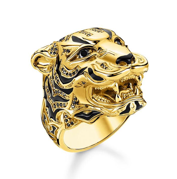 Thomas Sabo Tiger Ring Gold (Hey Pretty Fashion Flash: 20 sommerliche Lieblingsstücke, die gute Laune machen – Mai 2020