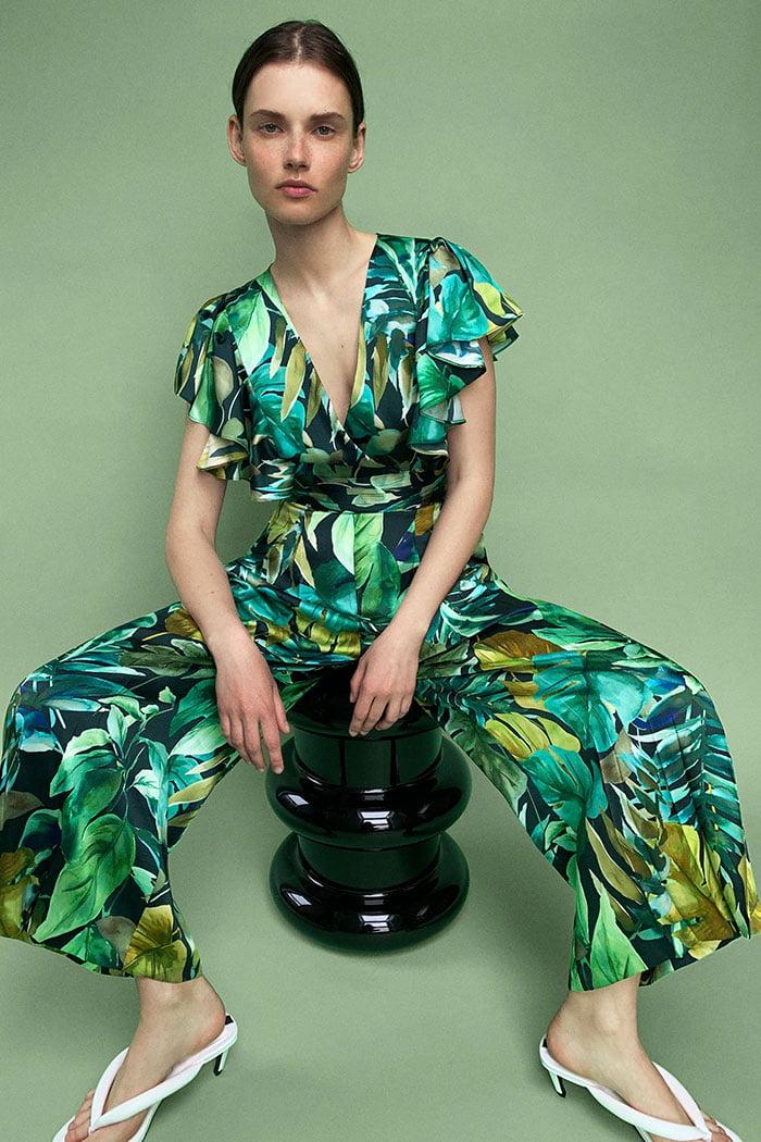Zara Overall mit Dschungelprint (Hey Pretty Fashion Flash: In Sommerlaune – 20 sommerliche Lieblingsstücke 2020)